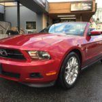 2012 Ford Mustang Convertible, 6 Speed Manual **59,988 KM** 1 Owner, Local, V6, Leather, $12,999